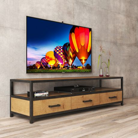 Urban Woodcraft 68'' Holland TV Stand - image 3 of 6