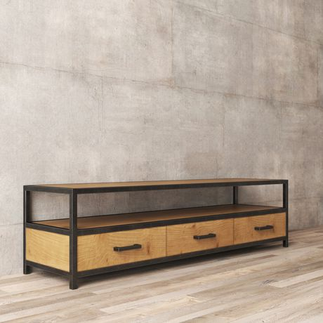 Urban Woodcraft 68'' Holland TV Stand - image 5 of 6