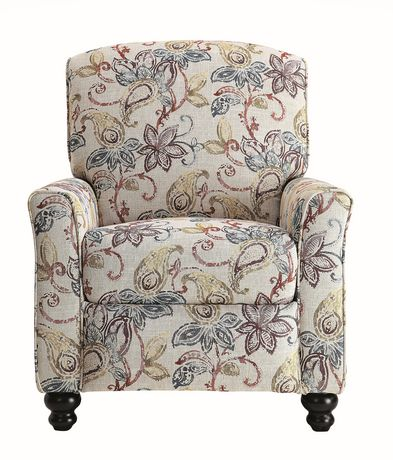 Topline Home Furnishings Fauteuil manuel floral - image 2 de 6