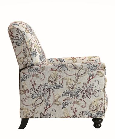 Topline Home Furnishings Fauteuil manuel floral - image 3 de 6