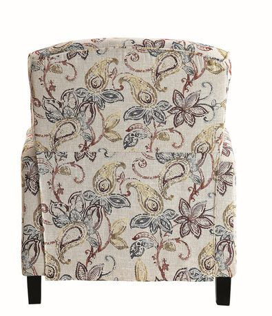 Topline Home Furnishings Fauteuil manuel floral - image 4 de 6
