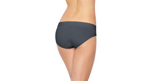 Emballage de 4 culottes à taille basse en microfibre Hanes pour femmes - image 2 de 2