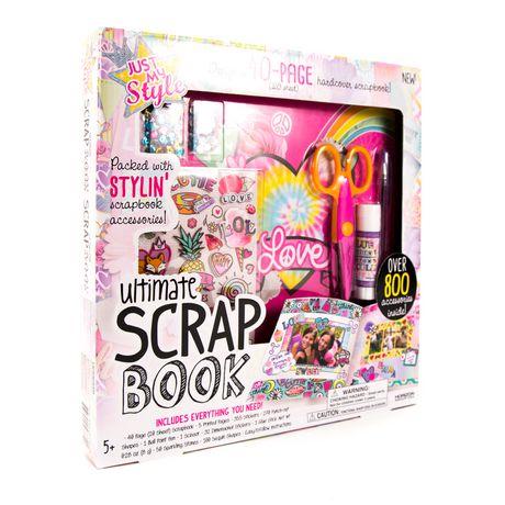 walmart scrapbook kit
