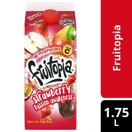 Fruitopia® Strawberry Passion Awareness 1.75L - image 1 of 2