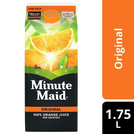 Minute Maid® 100% Orange Juice From Concentrate 1.75L carton - image 1 of 4