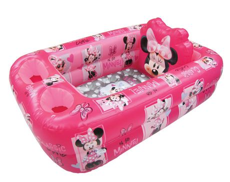 Disney Minnie Mouse Inflatable Bath Tub Walmart Canada