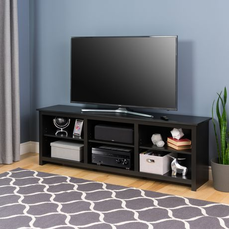 Prepac Sonoma 72 Inch TV Stand, Black - image 3 of 6