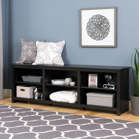 Prepac Sonoma 72 Inch TV Stand, Black - image 4 of 6