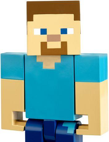 Minecraft - Figurine articulée à grande échelle - Steve - image 3 de 8