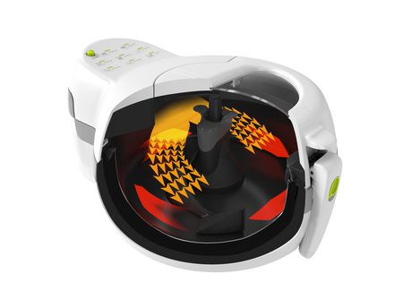 T-fal ActiFry Original 1kg Air Fryer, No Timer, Automatically Stirs, White - image 3 of 8