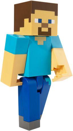 Minecraft - Figurine articulée à grande échelle - Steve - image 4 de 8