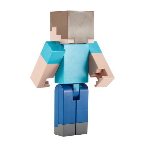 Minecraft - Figurine articulée à grande échelle - Steve - image 7 de 8
