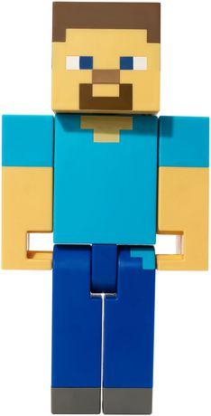 Minecraft - Figurine articulée à grande échelle - Steve - image 6 de 8