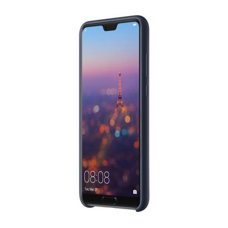 Coque Huawei P20 Soft Touch Bleu