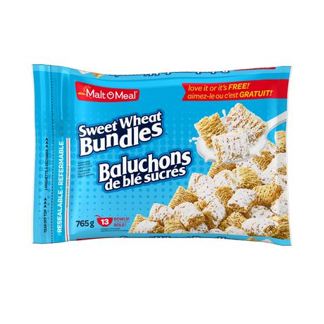 Malt-O-Meal® Sweet Wheat Bundles Cereal - image 1 of 2