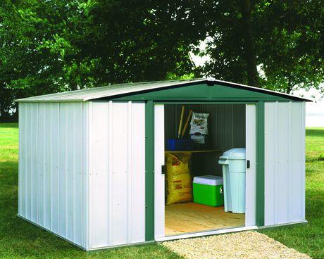 Hamlet 8 39 x 6 39 garden shed walmart canada for Garden sheds canada