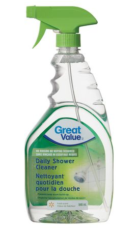 great value daily shower cleaner