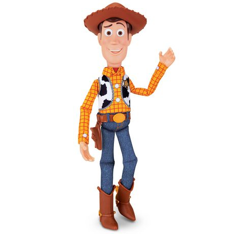 """Toy Story 4 Sheriff Woody 16"""" Deluxe Pull-String Action Figure - image 1 of 5"""