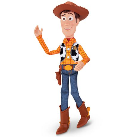 """Toy Story 4 Sheriff Woody 16"""" Deluxe Pull-String Action Figure - image 2 of 5"""