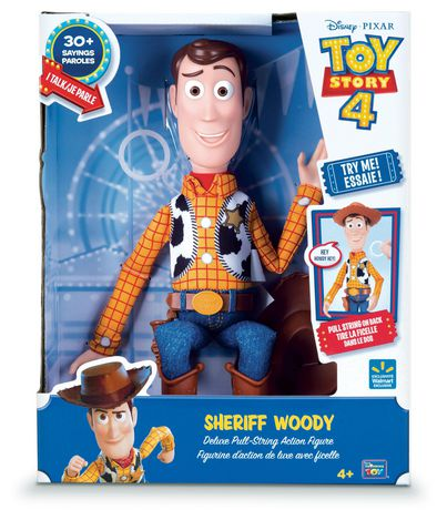 """Toy Story 4 Sheriff Woody 16"""" Deluxe Pull-String Action Figure - image 5 of 5"""