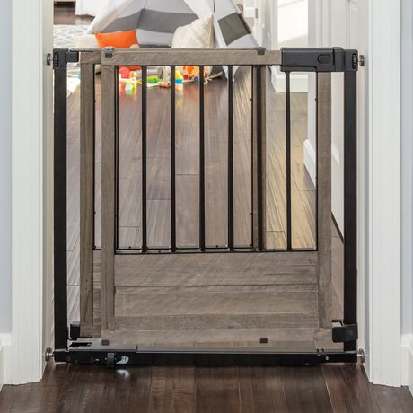 Summer Infant Rustic Home Sliding Barn Door Style Baby Safety Gate