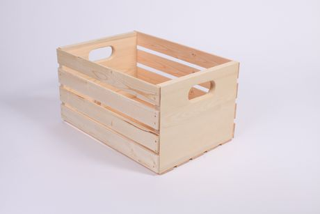 """Shelve it 18"""" Wood Crate - image 1 of 1"""