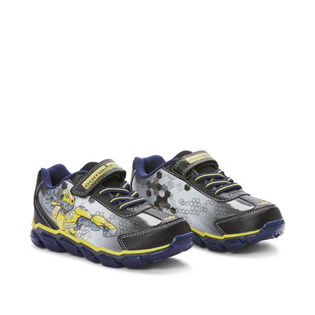 bumblebee light up shoes