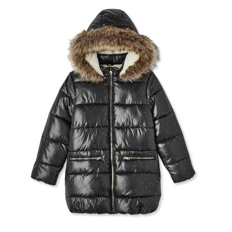 6ea5f73d8 George Girls' Long Puffer Coat | Walmart Canada