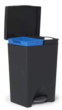 Mistral ® 2 x 25 L iCan Recycle Step Can - image 1 of 2