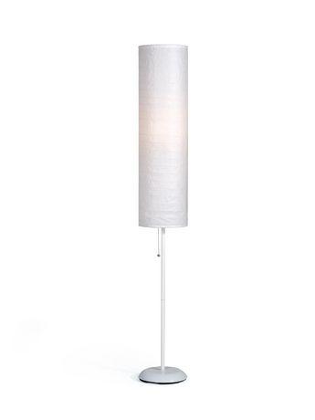 paper shade floor lamp