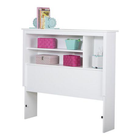 t te de lit biblioth que collection vito de meubles south shore simple walmart canada. Black Bedroom Furniture Sets. Home Design Ideas