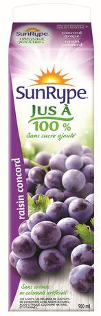 SunRype 100% Concord Grape Juice - image 2 of 2