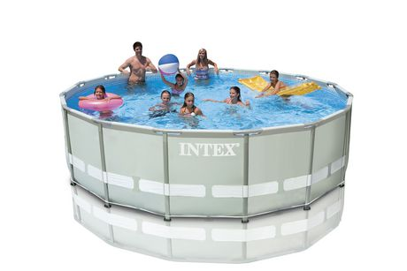 Intex 16 Ft X 48 In Steel Ultra Frame Pool Set Walmart