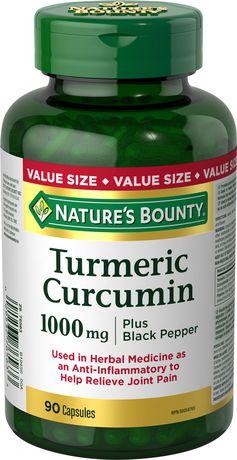 Nature's Bounty Curcumine du Curcuma - image 1 de 2
