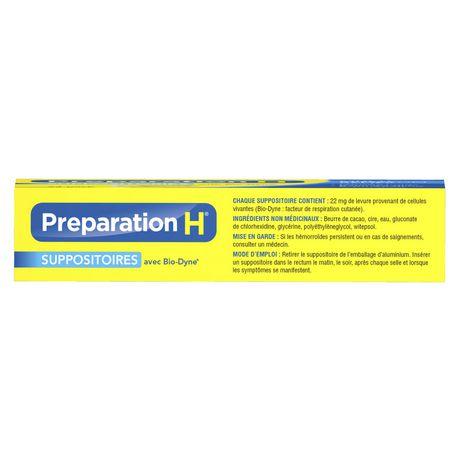 Paquet de suppositoires de Préparation H - image 3 de 4