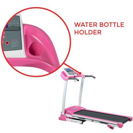 sunny health  fitness p8700 pink treadmill  walmart canada