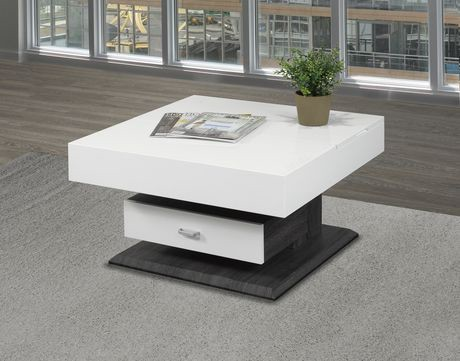 Brassex Gabriel Rotating Coffee Table With Lift Top