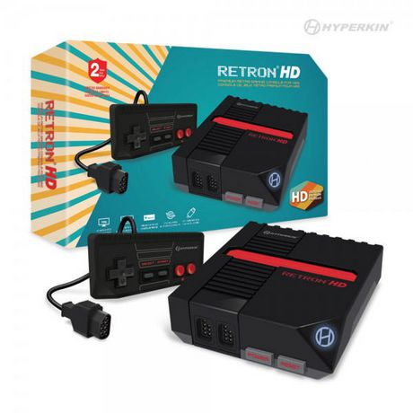 Retron HD Gaming Console for NES - Black - image 2 of 3