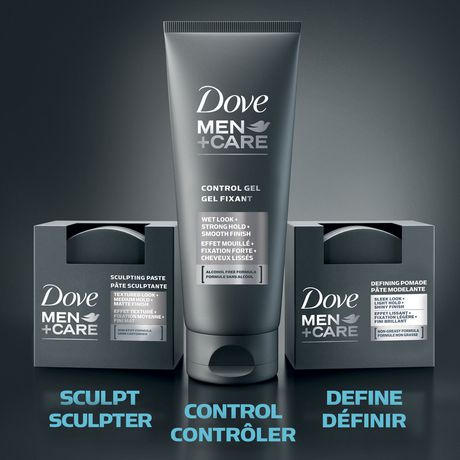Dove Men+Care® Gel coiffant fortifiant Define & Strong Hold, caféine - image 5 de 5