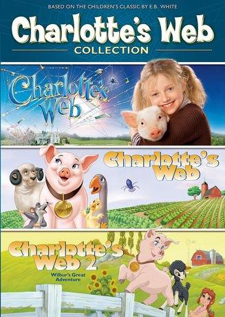 charlottes web 3 pack charlottes web 1973 charlottes web 2 charlottes web 2006 bilingual walmart canada