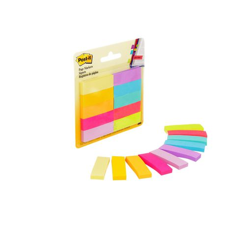 POST - IT Post-it® Page Markers, Assorted Brights, 1/2 in X 2 in (1.3 Cm X 5 Cm) - image 4 of 5