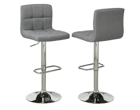 Brassex Grey Fabric Square Bar Stools Walmart.ca - Grey Fabric Bar Stools  Baileys Kitchen - Wooden Bar Stools Walmart Baileys Kitchen
