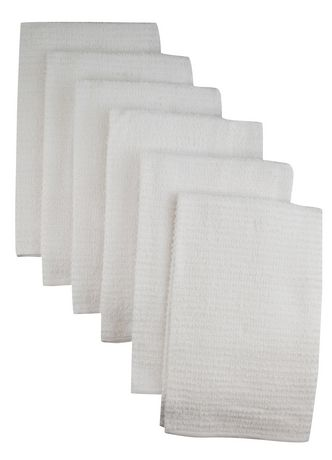 Mainstays Bar Mop Kitchen Towel 6 pack - image 1 of 1