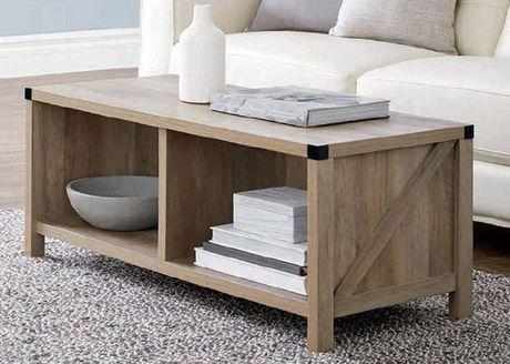 Coffee Table Rustic Oak