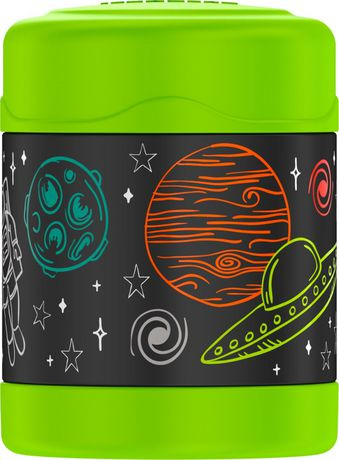 Thermos Brand FUNtainer Vacuum Insualted Food Jar, Space, 290 mL - image 1 of 2