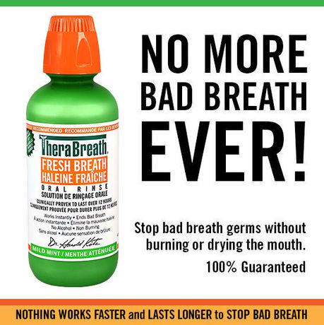 TheraBreath Fresh Breath Oral Rinse, Mild Mint - image 5 of 5