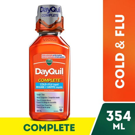 Vicks DayQuil Complete Rhume et grippe liquide - image 1 de 2