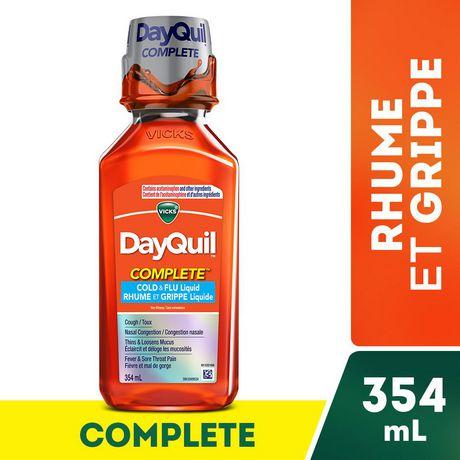 Vicks DayQuil Complete Rhume et grippe liquide - image 2 de 2
