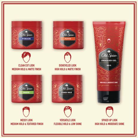old spice hair styling spice swagger gel hair styling for walmart ca 4922 | 6000196770571