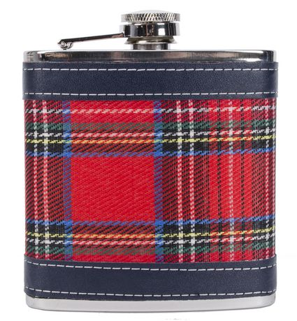 Perfect Solutions Plaid Flask | Walmart Canada